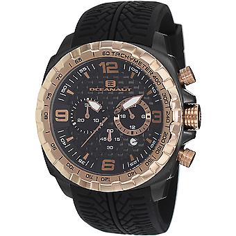 Oceanaut Men's Racer Black Dial Watch - OC1121