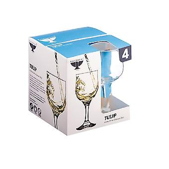 Rayware Tulip White Wine Glasses (Set Of 4)