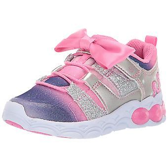 Stride Rite Kids Katie Girl's Light-up Mesh Athletic Sneaker