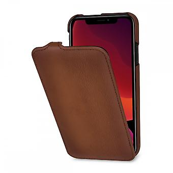 Case For IPhone 11 Ultraslim In True Leather Brown