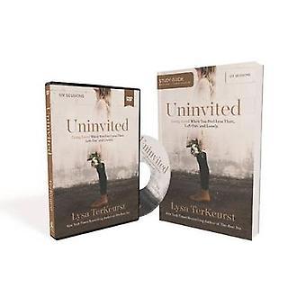 Onuitgenodigde StudieGids met DVD Living geliefd wanneer je je minder voelt dan links en eenzaam door Lysa TerKeurst