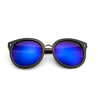Óculos de sol redondos da lente do vintage