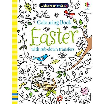 Colouring Book Easter with Rub Downs by Kirsteen Robson