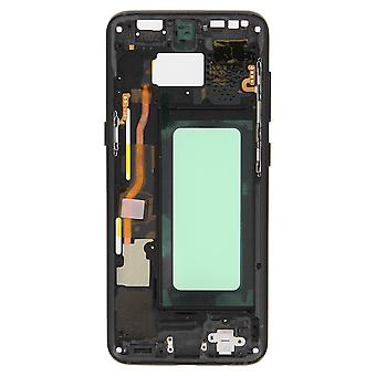 Chassis Samsung Galaxy S8 Central Motherboard Integral Original - Preto