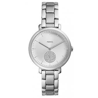 Fossiele ES4437 horloge - watch armband stalen grijs vrouw
