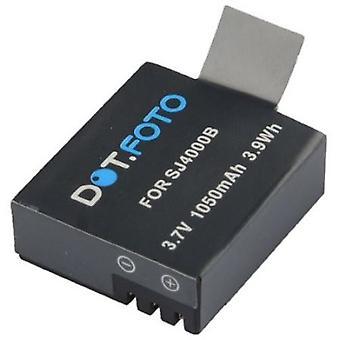 M10 Dot.Foto SJCAM, SJ4000, SJ5000, SJ5000 Plus, SJ6000, SJ7000, SJ9000 wymiany baterii - 3, 7V / 1050mAh