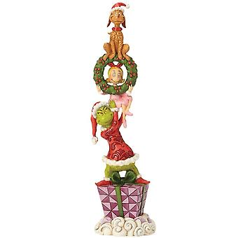 Jim Shore The Grinch Stacked Grinch Characters Figurine