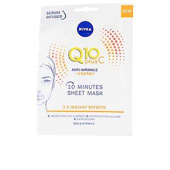 NIVEA Q10 + vitamina C anti-arrugas + energizant masca facial pentru femei