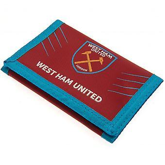 West Ham United FC Touch Fastening Wallet