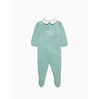 Zippy Nb Overall Knit Blue