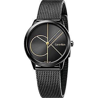 Calvin Klein ladies Quartz analogue watch with stainless steel band K3M224X1