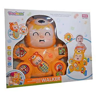 Ladida Walking Carriage Laughing Bear Multifunctional Walker