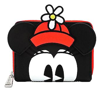 Loungefly x Disney Positively Minnie Polka Dot Zip Around Purse