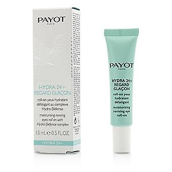 Payot Hydra 24+ Moisturing Reviving Eyes Roll On  15ml/0.5oz