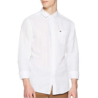 Dress Lin Uni Solid Regular Shirt - Tommy Jeans