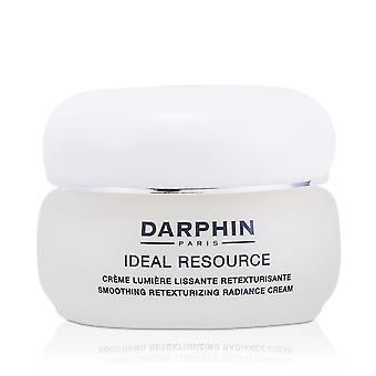 Crema de resplandor retexturizante de alisamiento de recursos ideal (piel normal a seca) 161188 50ml/1.7oz
