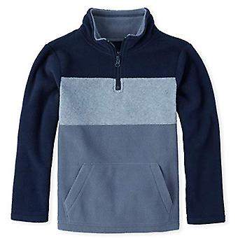 The Children's Place Boys' Big Kid Long Sleeve, Slate, Size XX-Large