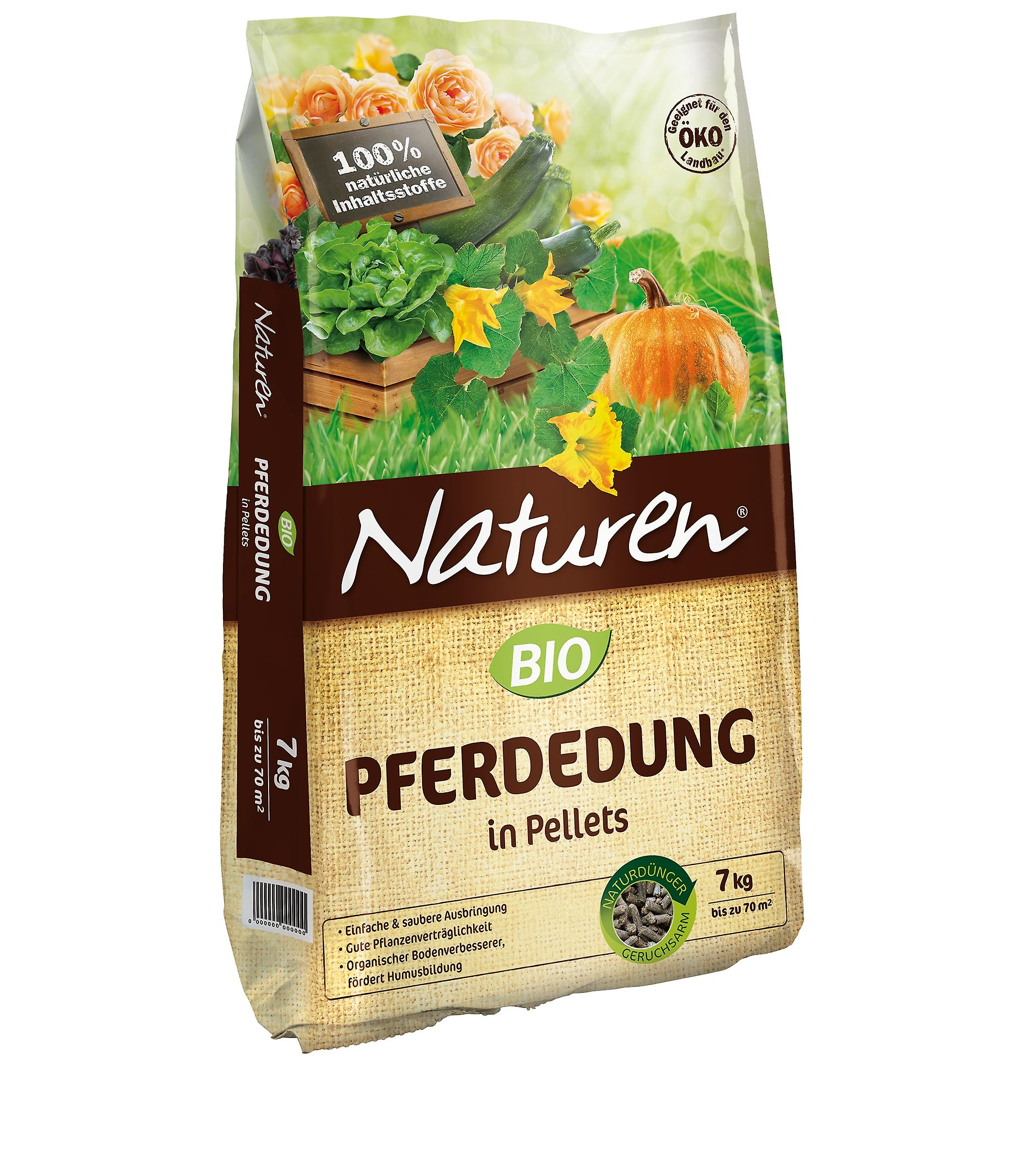 SUBSTRAL® Naturen®  BIO Pferdedung, 7 kg