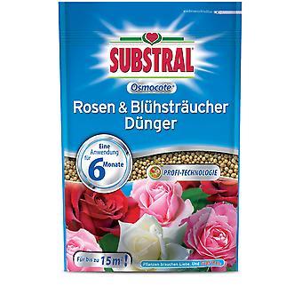 SUBSTRAL® Osmocote Roses & Flowering shrubs Fertilizer, 750 g