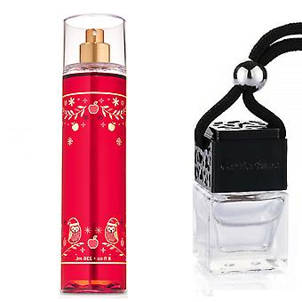 APPLE CANDY Inspired Fragrance 8ml Black Lid Bottle Hanging Car Vehicle Auto Air Freshener