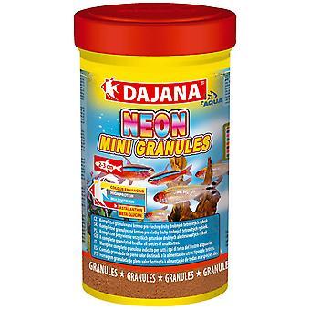 Dajana Neon Mini-Granulos 100ml (Fish , Food , Warm Water)