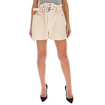 Isabel Marant ÉToile Sh028620p007e23ec Women's Beige Cotton Shorts