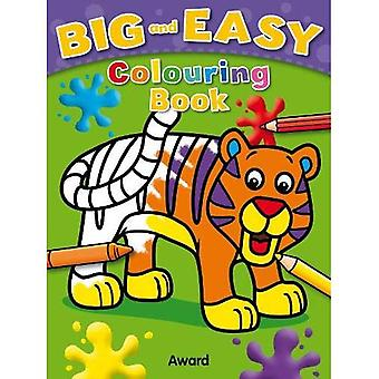 Big and Easy Coloring Book� - Tiger (Big & Easy)