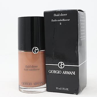 Giorgio Armani Fluid Sheer Foundation 1 uncja/30ml Nowy z pudełkiem