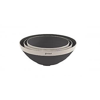 Outwell Navy Collaps Bowl Set