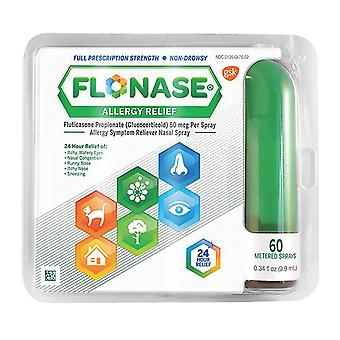 Flonase allergie opluchting spray, 60 gemeten sprays, 0,34 oz