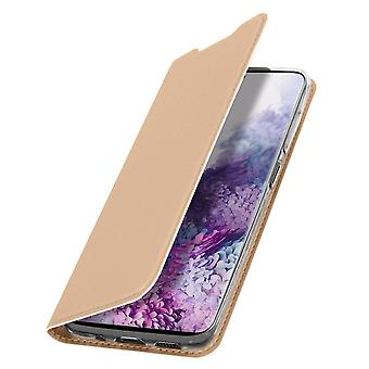 Slim flip wallet case, Business series for Samsung Galaxy S20 Ultra - Rose gold