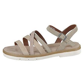 Tamaris Olive 12811424796 sapatos universais de verão feminino