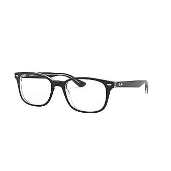 Ray-Ban RB5375 2034 Top Black On Transparent Glasses