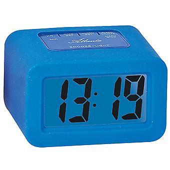 Atlanta 1971/5 alarm clock quartz digital blue digital alarm clock with snooze light