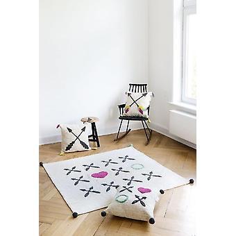 Baby square carpet Kisses and hugs 150x150cm