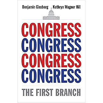 Congress - The First Branch by Benjamin Ginsberg - 9780300220537 Book