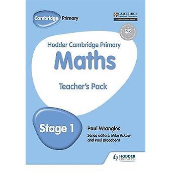 Hodder Cambridge Primær matematikk Lærer's Pack 1 av Paul Wrangle