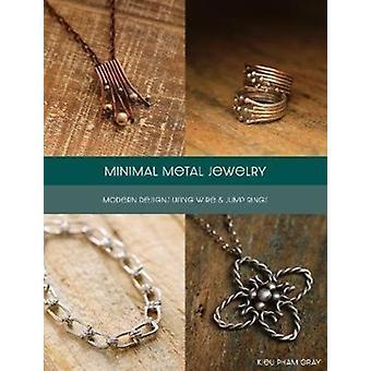 Minimal Metal Jewelry by Kieu Pham Gray