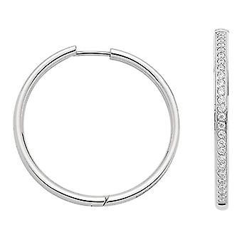 Jewels by Leonardo Women's Steel Hoop earrings -stainless - 016058