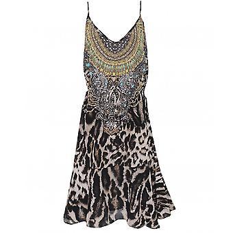 Inoa Siberia Silk Flirt Mini Dress