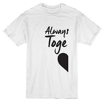 Valentins-immer ewig zusammen passenden paar Herren T-shirt