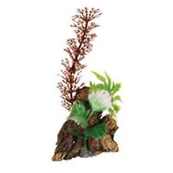 Marina MARINA DECO WOOD TRUNK WITH PLANTS, SMALL