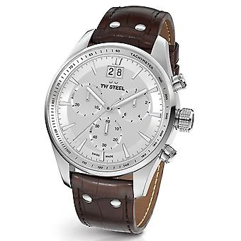 TW Steel ACE302 ancient Aternus Swiss Made chronograph mens watch 45 mm
