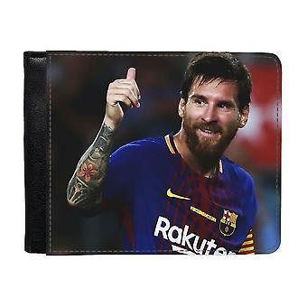 2017 Lionel Messi Plånbok Med Myntfack
