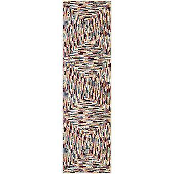 "27""x 96""x 0.55"" Stripes Multi Area Rug"