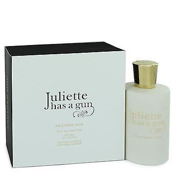 Another Oud Eau De Parfum spray By Juliette Has a Gun 3.4 oz Eau De Parfum spray