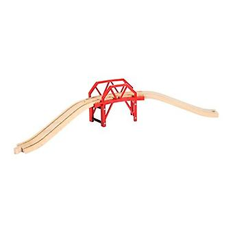 BRIO Curved Bridge 33699 Wooden Railway Accessory