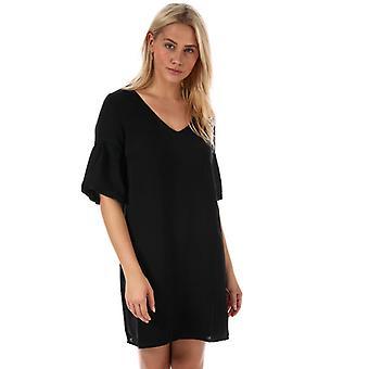 Women's Vero Moda Lee Balloon Sleeve Dress in Black