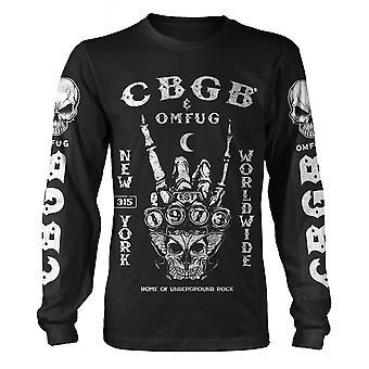 Cbgb Est 1973 Longsleeve רוול הרשמי טי חולצת החולצה יוניסקס