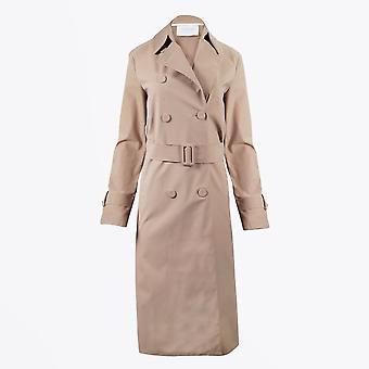 Harris Wharf - Trench Coat plissé - Tan